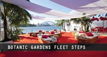 Botanic Gardens Fleet Steps