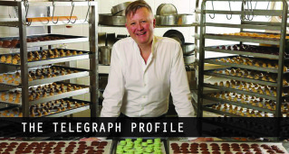 gastronomy director profiled on the telegraph
