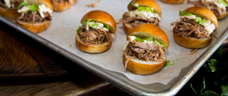 Cider pulled pork sliders | Gastronomy